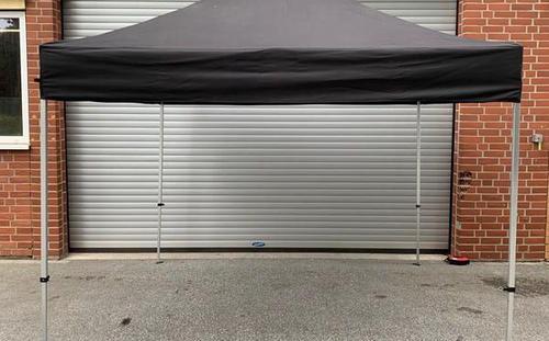 Pavillon 3x3m schwarz