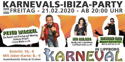 Banner Ibiza Party